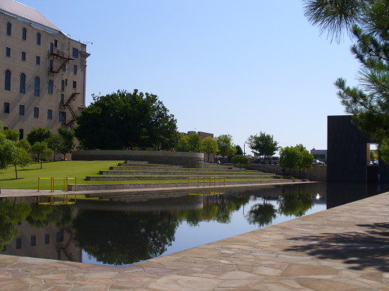 Another view of the reflection pool - you can see how special it is
