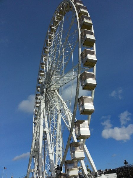 The Paris Ferris Wheel.  It's just a random Ferris wheel, maybe Paris's version of the London Eye?