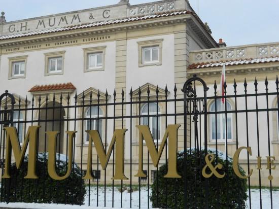 Mumm & Co... Reims, France