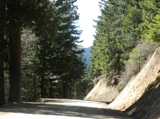 Colestin oad connects Mt. Ashland road to Hilt, CA.