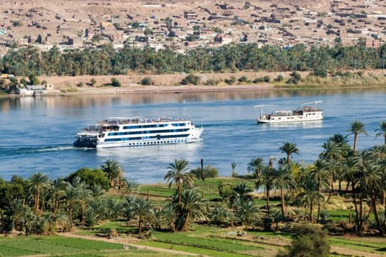 Cruising the Nile River - photo credit: vacationhomes.net