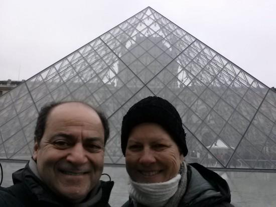 Glass Pyramid - The Louvre, Paris, France