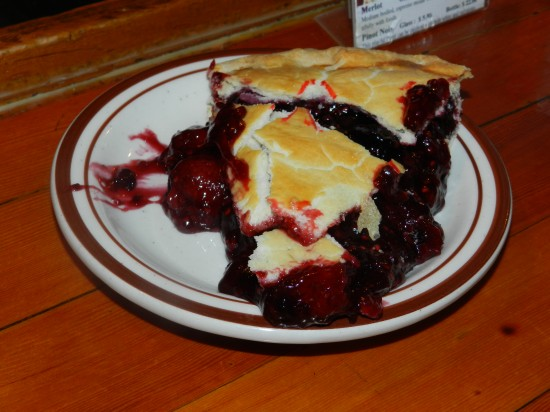 Berry pie!