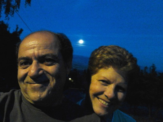 Moon shot with us