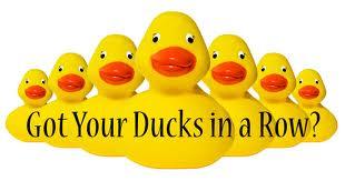 ducks in a row