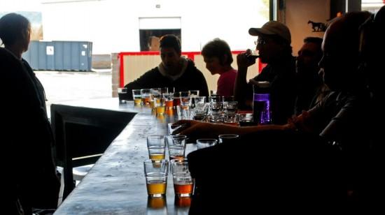 Tasting flights - Cheers!