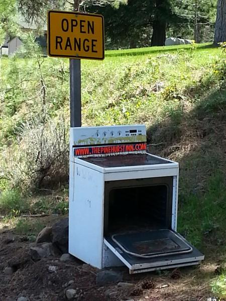 Open Range - literally.