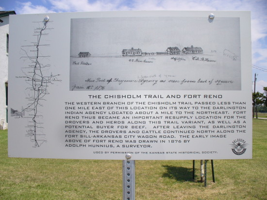 Chisholm Trail - the legend of a long ago era