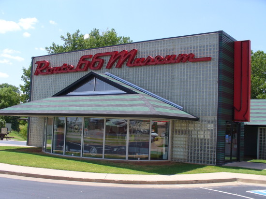 Route 66 Museum in Clinton, OK - one of the best museums we found along the Route