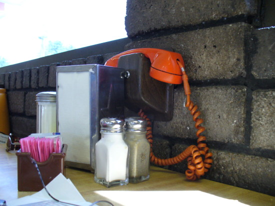 The orange phone!