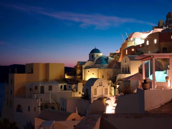 Santorini - Photo credit:  CT Feng
