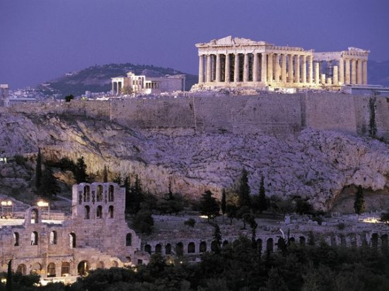 Parthenon - photo credit:  National Geographic