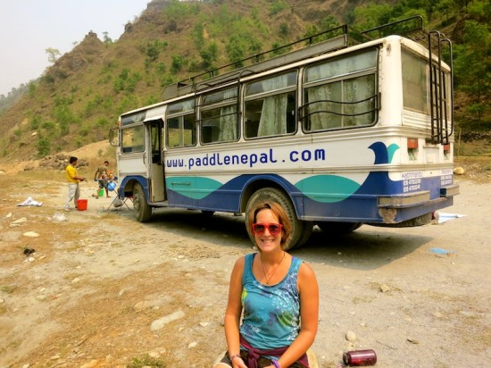 Kim in Nepal