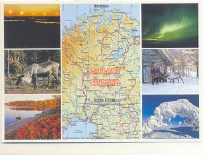 Finland - LaplandMap- Ella