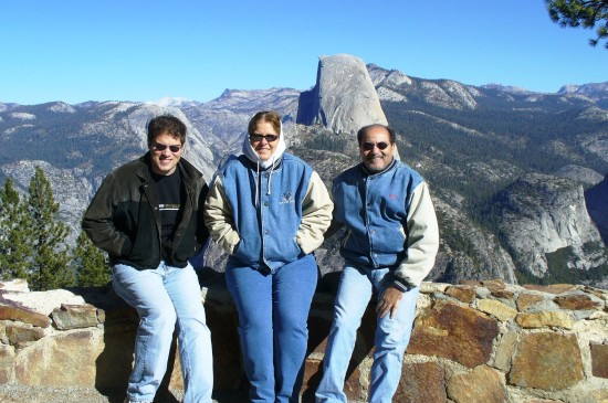 Thanksgiving 2007 - Yosemite - brrrr...