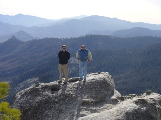 Thanksgiving 2009 - Sequoia National Forest