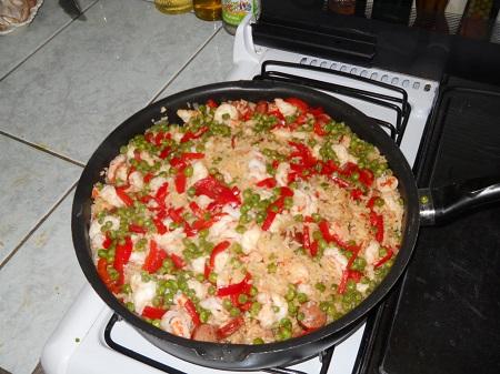 paella dinner 040