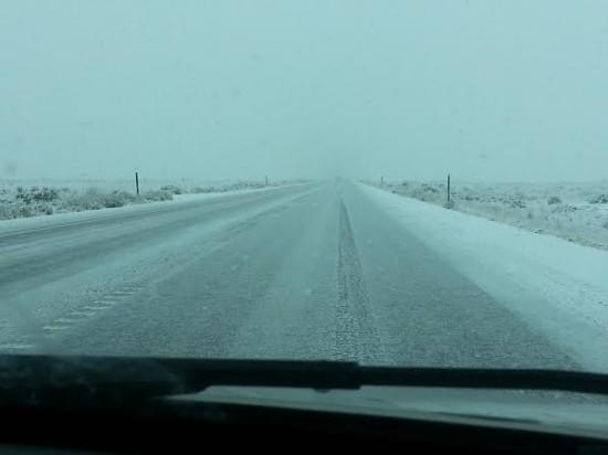 Driving across Utah