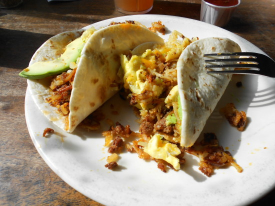 Breakfast Tacos - Austin Java Cafe