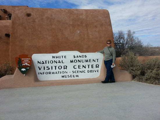 We bought a lifetime National Park Pass at the start of our trip, but did we remember to use it at White Sands? Duh...