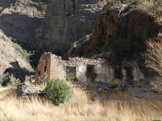 Ruins of the main lodge