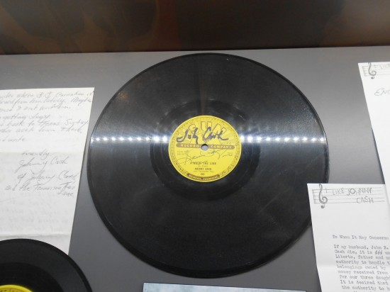 Walk The Line on the Sun Record label