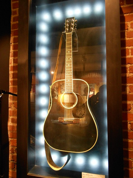 One of Johnny's guitars