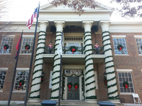 The Franklin Court House