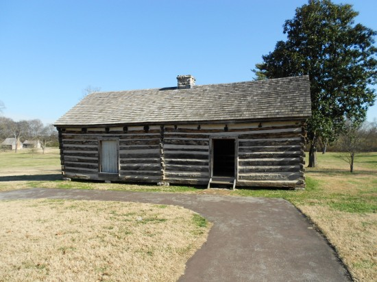 The right side was Alfred's cabin.