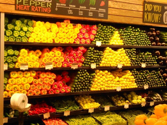 Veggie Art - Whole Foods hub store - Austin, TX