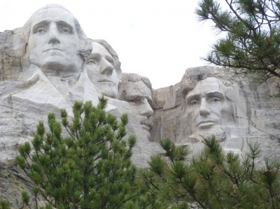 Mt. Rushmore - visited on our northern route - amazing!