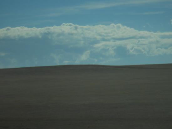 Monochromatic landscape across Wyoming