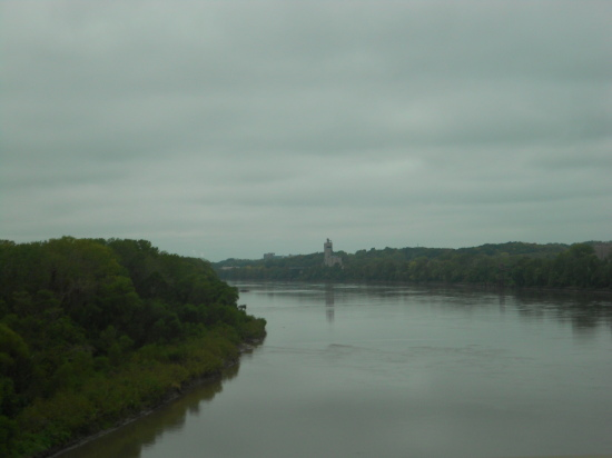 Crossing the Missouri River