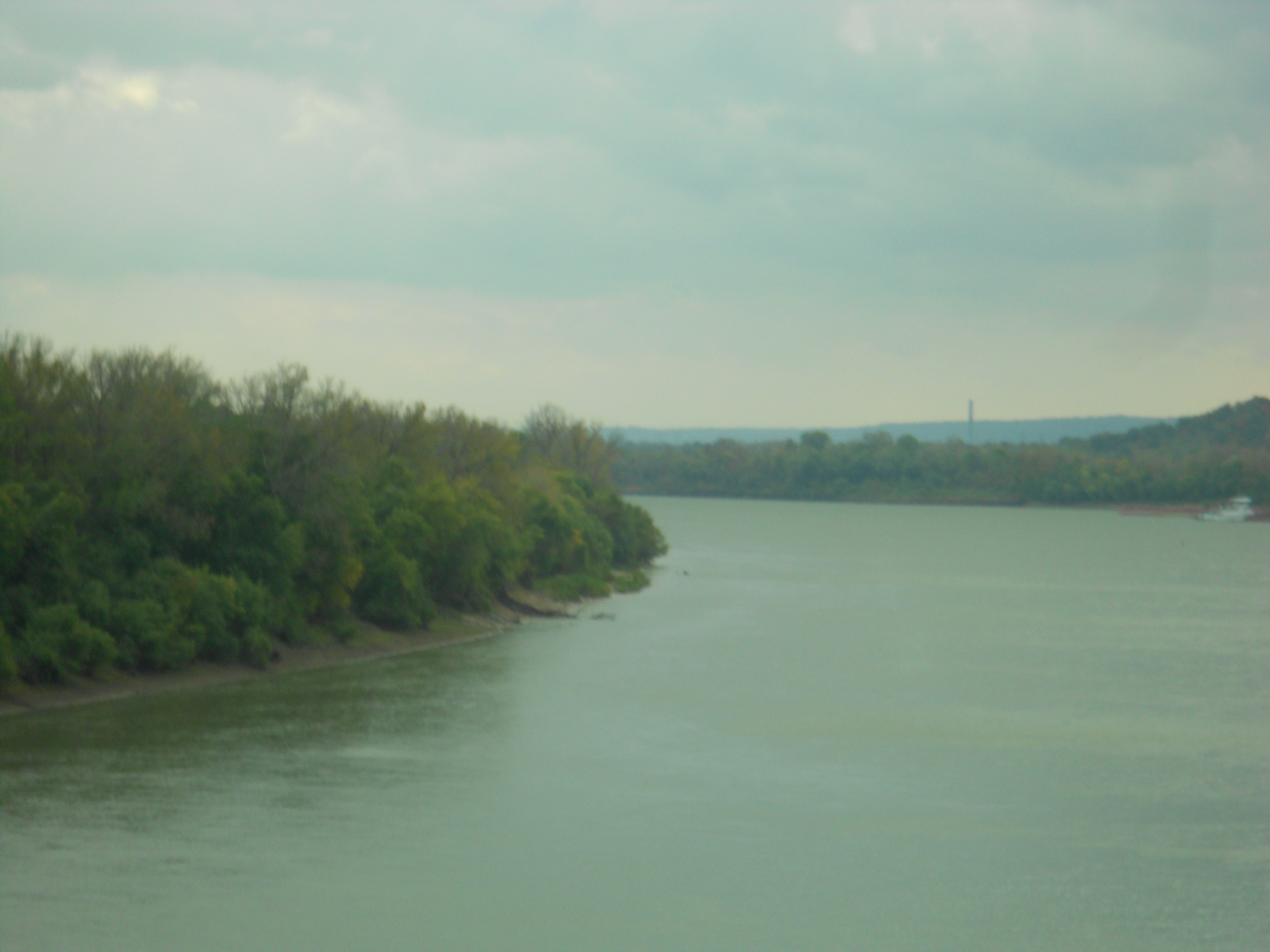 The Ohio River at Louisville, KY