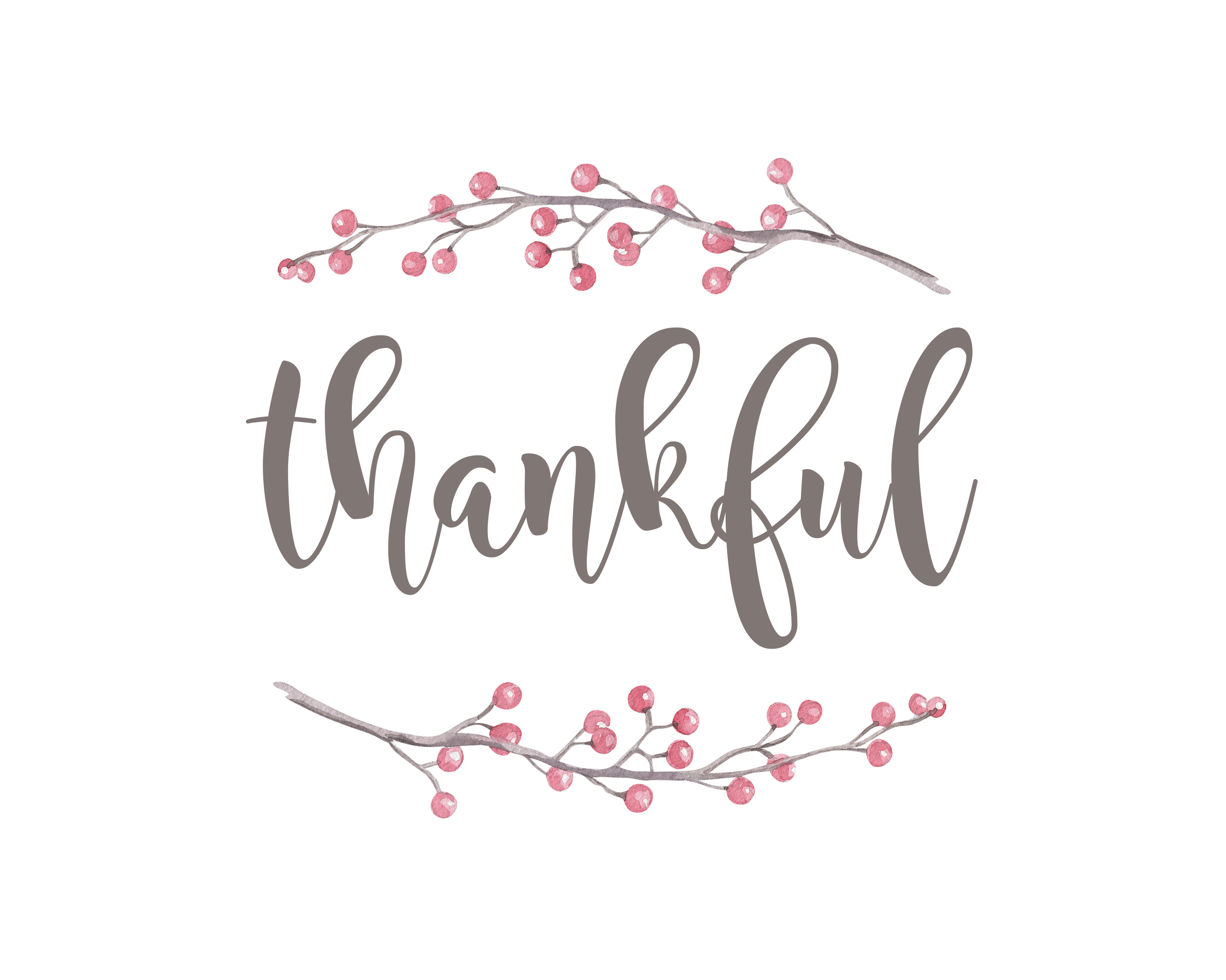 photo regarding Thankful Printable referred to as grateful-printable - One particular Street at a Year