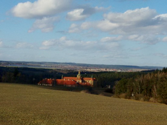 A random beautiful building in the Czech Republic countryside