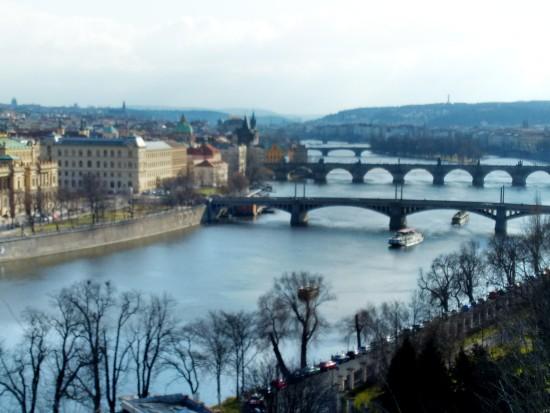 Vltava River - Bridges