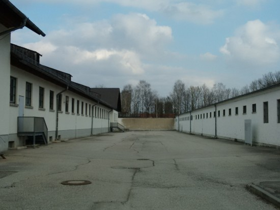 The building on the right was the bunker. It was the prison inside the prison.