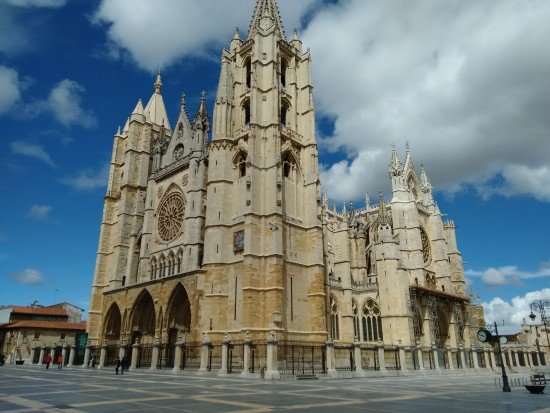 The Cathedral in Leon.