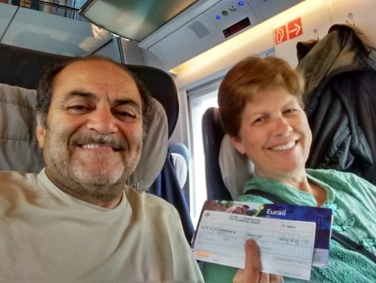 Our Eurail passes made our travels so much easier, and fun!