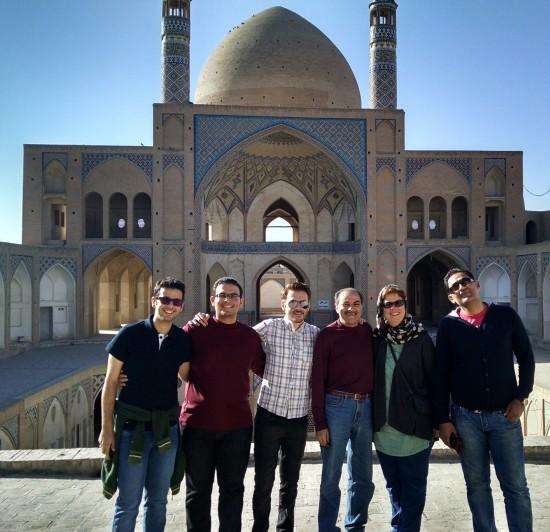 Agha Bozorg Mosque - Kashan, Iran.