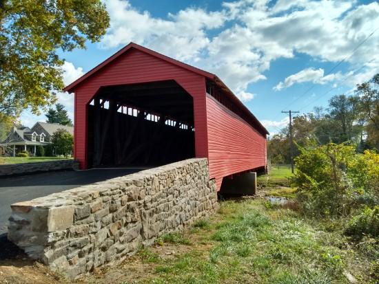 The Utica Mills Covered Bridge