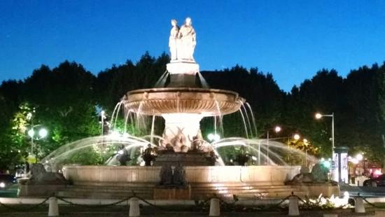 Fontaine de la Rotonde, Aix en Provence