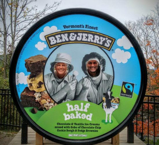 Ben and Jerry's.