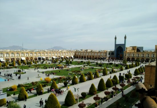 Iman's Mosque in Isfahan