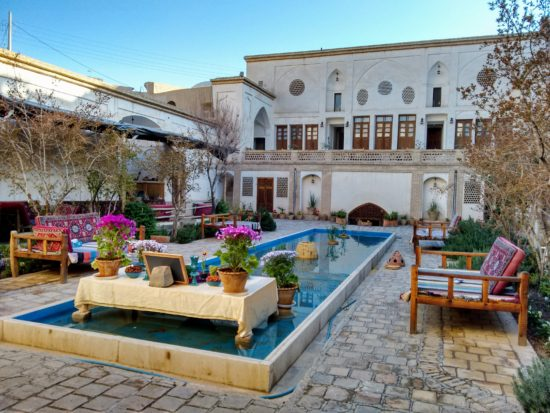 A beautifully restored historic home - now a Bed & Breakfast in Kashan, Iran