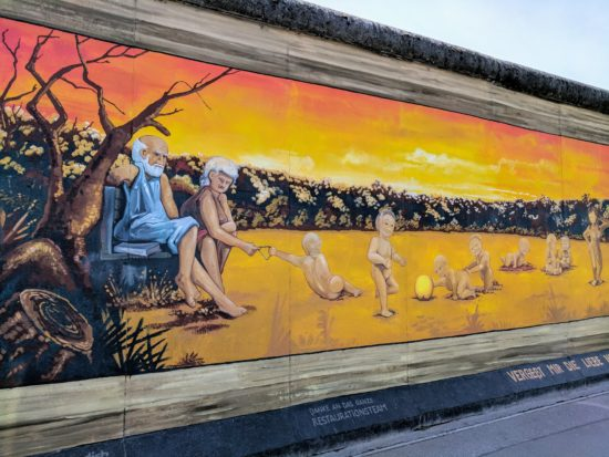 The Berlin Wall: East Side Gallery ~ - One Road at a Time