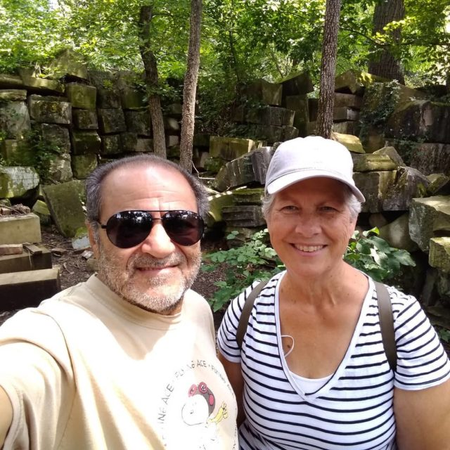 Took a hike to find the #capitolstones in #rockcreekpark in #washingtondc #travelblogger #selfie #hello #picture #postcardsfromtheworld