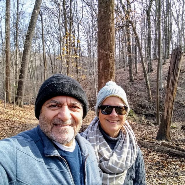 A chilly day for a walk in the woods. #awalkinthewoods #december #woods #justthetwoofus #ilovemyneighborhood #anacostiariver #visitmaryland