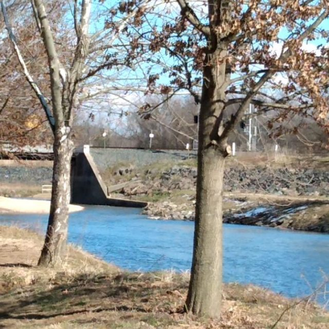 Lonesome train whistle. Love the sound! #train #trainwhistle #trainbridge #visitmaryland #anacostia #anacostiarivertrail
